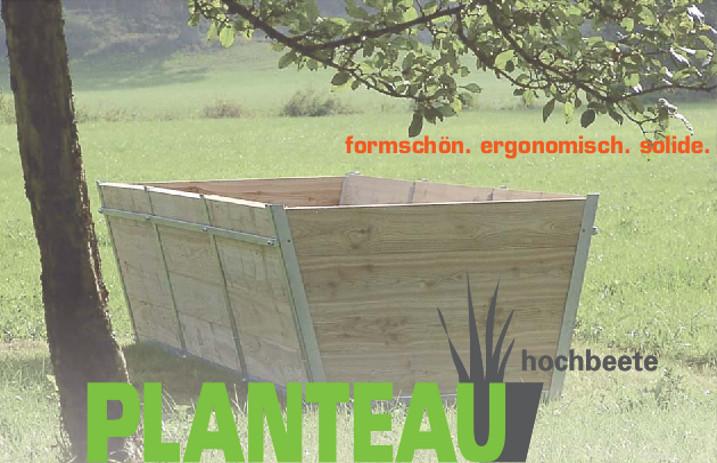 Planteau Hochbeete Hochbeet Angebot Preis Holz Konstruktion